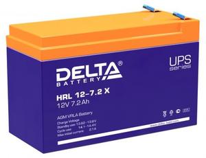 Аккумулятор для ИБП Delta HRL 12-7.2(X) (12V, 7.2Ah)