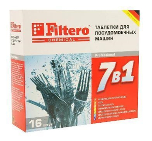 "Filtero Таблетки для ПММ ""7 в 1"" 16 шт., Арт. 701"
