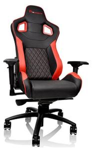 Кресло игровое Tt eSPORTS by Thermaltake GT Fit GTF 100 (GC-GTF-BRMFDL-01) красный