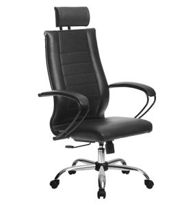 Кресло для руководителя Метта Комплект 32 (БЕЗ ОСНОВАНИЯ) черный