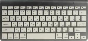 Клавиатура беспроводная Jet.A Slim Line K9 BT Silver серебристый