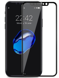 Стекло защитное 3D Breaking Grid для iPhone XS Max (Black)