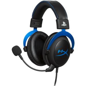 Проводная гарнитура HyperX PS4 Cloud HX-HSCLS-BL/EM синий