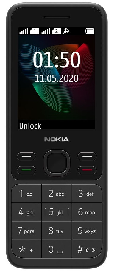 Сотовый телефон Nokia 150 черный