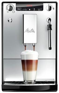 Кофемашина Melitta E 953-102 Solo&milk серебристый