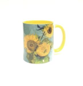 Кружка керамическая «Подсолнухи» Винсент Ван Гог