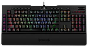 Клавиатура проводная Redragon Brahma Pro черный