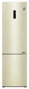 Холодильник LG GA-B509CEQZ бежевый
