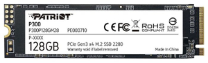 Накопитель SSD Patriot Memory P300 [P300P128GM28] 128 ГБ