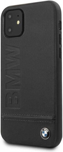 Чехол накладка BMW для Apple iPhone 11 черный