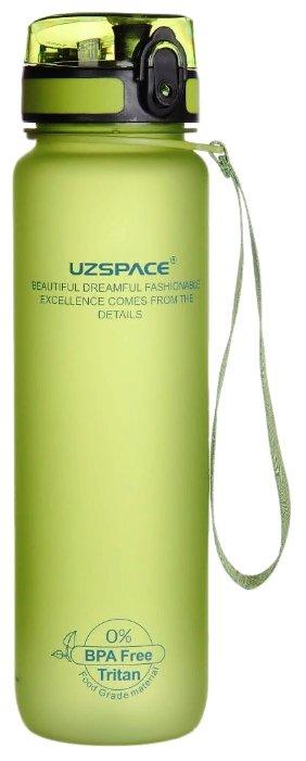 Бутылка для воды UZSPACE Colorful Frosted 3038 зеленый