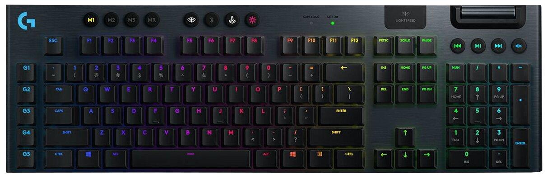 Клавиатура проводная Logitech G915 черный