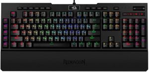 Клавиатура проводная Redragon Brahma черный