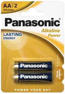 Panasonic LR6 Alkaline  Power BL*2 батарейка (2х12=24)