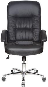 Кресло для руководителя Бюрократ T-9908AXSN-AB черный
