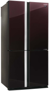 Холодильник Sharp SJGX98PRD бордовый