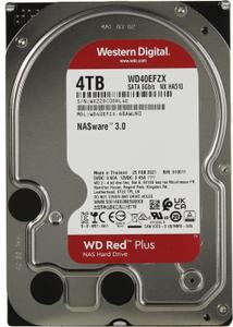 Жесткий диск Western Digital Red Plus [WD40EFZX] 4 ТБ