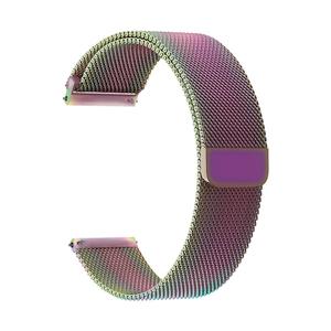 Универсальный ремешок из нержавеющей стали для часов 20 mm LYAMBDA CAPELLA DS-GM-01-20-SC Seven Color