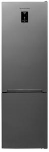 Холодильник Schaub Lorenz SLUS379G4E серебристый