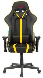 Кресло игровое Бюрократ Zombie A4 желтый