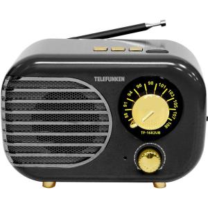 Радиоприемник Telefunken TF-1682UB черный