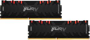 Оперативная память Kingston FURY RenegadeRGB [KF430C15RB1AK2/32] 32 Гб DDR4