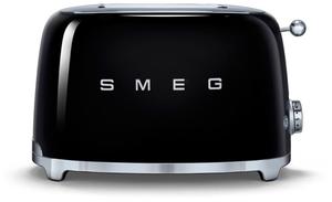 Тостер SMEG TSF01BLEU черный