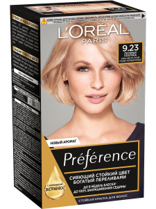Краска для волос Preference 9.23 Розовая платина L'Oreal Paris