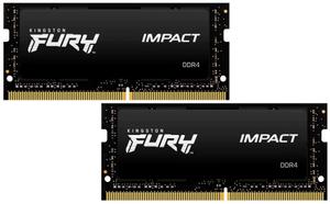 Оперативная память Kingston FURY Impact [KF429S17IBK2/16] 16 Гб DDR4