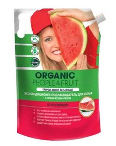 Кондиционер-ополаскиватель для белья ЭКО с органическим арбузом 2л. Organic People&Fruit