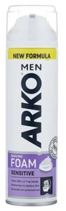 Пена для бритья для чувствительной кожи Sensitive 200м ARKO