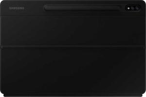 Чехол-клавиатура Samsung для Samsung Galaxy Tab S7+ EF-DT970BBRGRU полиуретан/поликарбонат черный