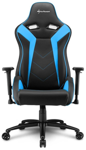 Кресло игровое Sharkoon Elbrus 3 синий