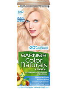 Краска для волос Color Naturals №1002 Жемчужный УльтраБлонд Garnier