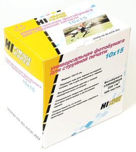 Фотобумага глянцевая односторонняя (Hi-image paper) 10x15 210 г/м 500 л.