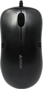 Мышь проводная A4Tech OP-560NU черный