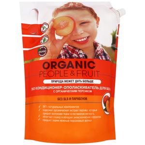 Кондиционер-ополаскиватель для белья ЭКО с органическим персиком 2л Organic People&Fruit