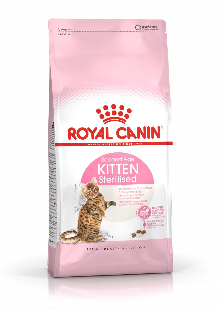 Royal Canin Kitten Sterilised 0.4+0.4