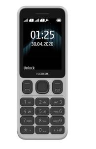 Сотовый телефон Nokia 125 DS белый