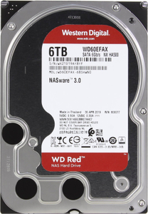 Жесткий диск Western Digital Red <WD60EFAX> 6 Тб