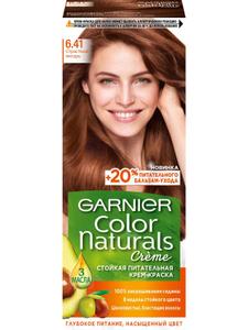 Краска для волос Color Naturals 6.41 Страстный янтарь Garnier