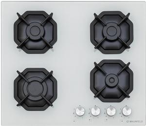 Газовая варочная панель MAUNFELD EGHG.64.2CW/G белый