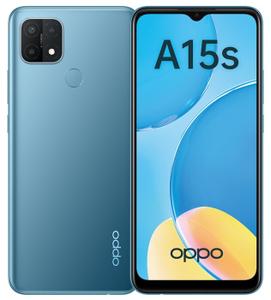 Смартфон OPPO A15s 64 Гб голубой