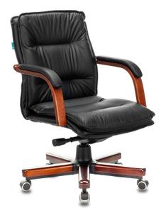 Кресло офисное Бюрократ T-9927WALNUT-LOW черный