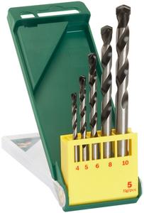 Набор сверл Bosch 2 607 019 444 (2607019444) по бетону (5пред.) для перфораторов