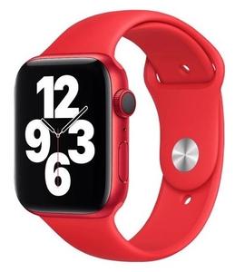 Ремешок силиконовый «vlp» Silicone Band для Apple Watch 42/44 мм, красный