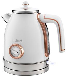 Чайник электрический Kitfort KT-6102-3 белый