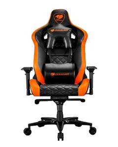 Кресло игровое Cougar Armor Titan черный/оранжевый