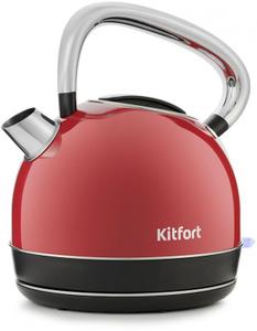 Чайник электрический Kitfort КТ-696-1 красный