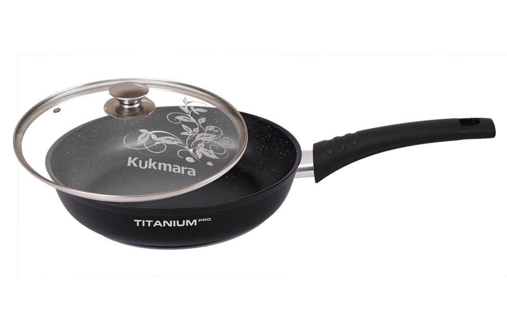 """Сковорода Kukmara """"Titanium pro"""""""